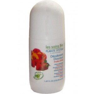 PLANTE SYSTEM - LES SOINS BIO - D&Eacute;ODORANT DOUCEUR - PARFUM FRUITS D&#039;ET&Eacute;