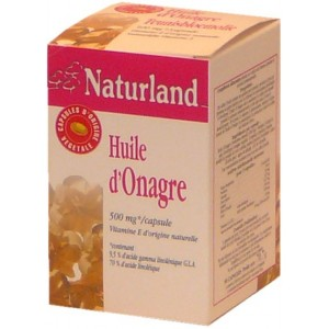 Naturland - Huile D&#039;Onagre - 90 Capsules
