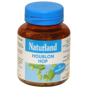 NATURLAND - HOUBLON - 75 V&Eacute;G&Eacute;CAPS
