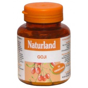 NATURLAND - GOJI - 75 V&Eacute;G&Eacute;CAPS 
