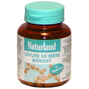 NATURLAND - LEVURE DE BI&Egrave;RE - 75 V&Eacute;G&Eacute;CAPS