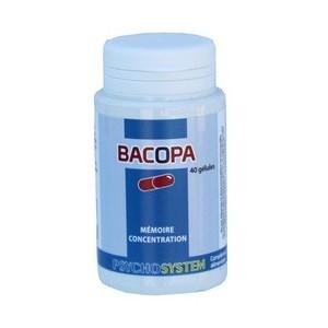 PSYCHOSYSTEM - BACOPA - 40 GÉLULES