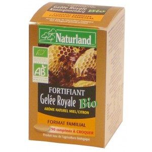 NATURLAND - GEL&Eacute;E ROYALE BIO - COMPRIM&Eacute;S
