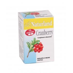 NATURLAND - CRANBERRY - 75 VÉGÉCAPS