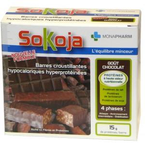 Monapharm - Sokoja Barres Chocolat